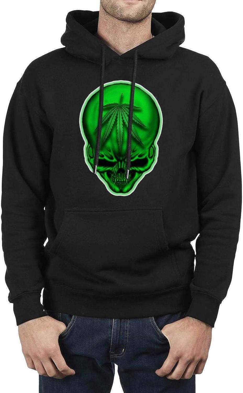 LED.Z.COUR LED.Z.COUR LED.Z.COUR Calexico Tucson Arizona Design Skull Man Black Sweatshirt Fleece Casual Long Sleeve 692208