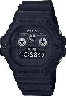 G Shock Men's Dw5900bb-1D Blackout Series Watch Resin Glass Black