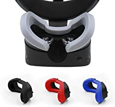 AMVR VR Silicone Protective Face Cover Mask & VR Lens Cover for Oculus Rift S Headset Sweatproof Waterproof Anti-Dirty Rep...