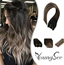 Best ombre black to blonde hair extensions Reviews
