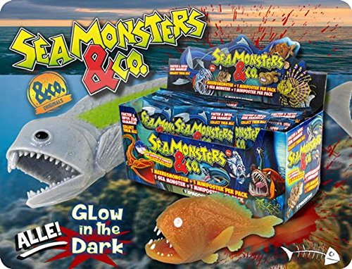 Plastunion - Sea Monsters & Co. Display 21 Sobres.