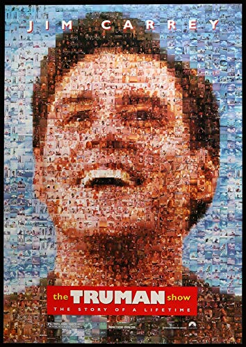 Poster Affiche The Truman Show Classic 90s Movie