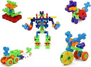 Little Treasures 72-Pcs Giant Building Block Puzzle Set is Ambitious and a Learning Experience for Almost Any Child!