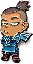 AVATAR SOKKA CHIBI PIN, Officially Licensed Nickelodeon's Animated Television Series Avatar Sokka Chibi Enamel Pin