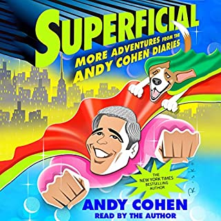 Superficial audiobook cover art