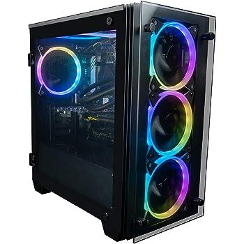 CUK Stratos Micro Gamer PC (Liquid Cooled Intel Core i9, 32GB RAM, 512GB NVMe SSD + 2TB HDD, NVIDIA GeForce RTX 3070 8GB, 750W Gold PSU, AC WiFi, Windows 10 Home) Best Tower Desktop Gaming Computer