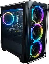 CUK Stratos Micro Gaming Desktop (Intel i9-10900KF, NVIDIA GeForce RTX 3090 24GB, 128GB RAM, 2TB NVMe SSD + 4TB HDD, 850W ...