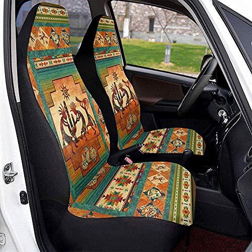 Alice Eva Autositzbezüge Southwestern Kokopelli Native American Indian Vordersitzbezüge Sattelsitzbezüge
