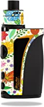 MightySkins Skin Compatible with Innokin iTaste Kroma Slipstream – Flower Garden | Protective, Durable, and Unique Vinyl Decal wrap Cover | Easy to Apply, Remove, and Change Styles | Made in The USA