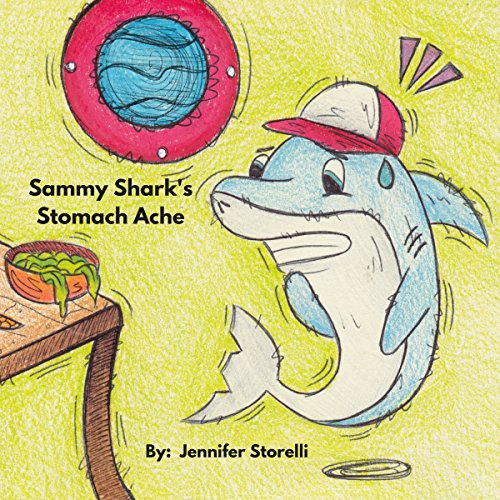 Sammy Shark's Stomach Ache audiobook cover art