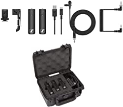 Sennheiser XSW-D Wireless Digital Lavalier Set, Includes 3.5mm Bodypack Transmitter, 3.5mm Camera-Mount Receiver and ME2-I...