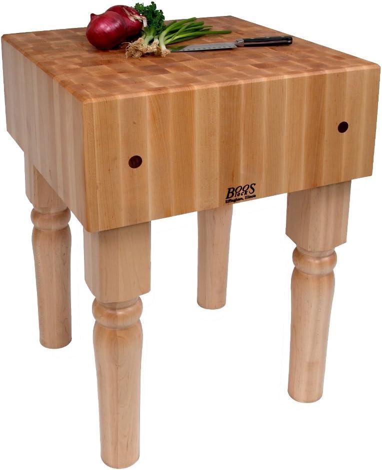 John Boos Kitchen Butcher Block 5 popular Table 205 x 24 lbs. - Free Shipping New 10
