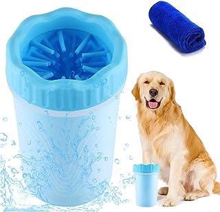 Limpiador de Patas de Perro,Limpiador De Huellas para Perros Portatil Cepillo de Limpieza para Mascotas,Limpieza Patas Per...