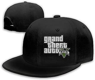 HiPiClothK Unisex Grant Theft Auto Five G-T-A5 Logo Baseball Cap