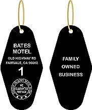 Psycho Fright Tags # 10 Key Tag - Bates Motel Black