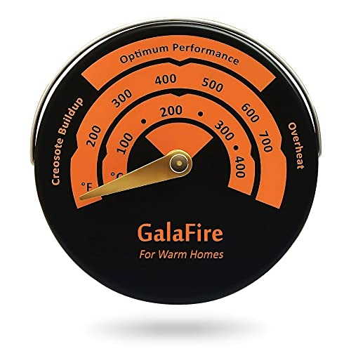 Magnetic Stove Thermometer Oven Temperature Meter for Wood Burning Stoves Gas Stoves Pellet Stove Stoves Avoid