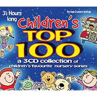 Children's Top 100 3 CD set of children's favourite nursery songs & rhymes