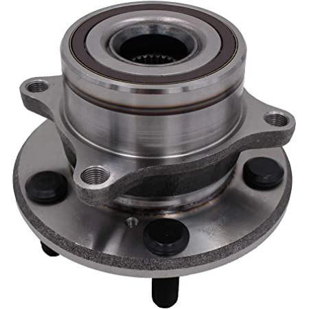 QJZ 2009-2015 Honda Pilot AWD Models ONLY 512342 2010-2013 Acura ZDX Front Driver and Passenger Side Wheel Hub Bearing Assembly for 2007-2013 Acura MDX 2-Pack
