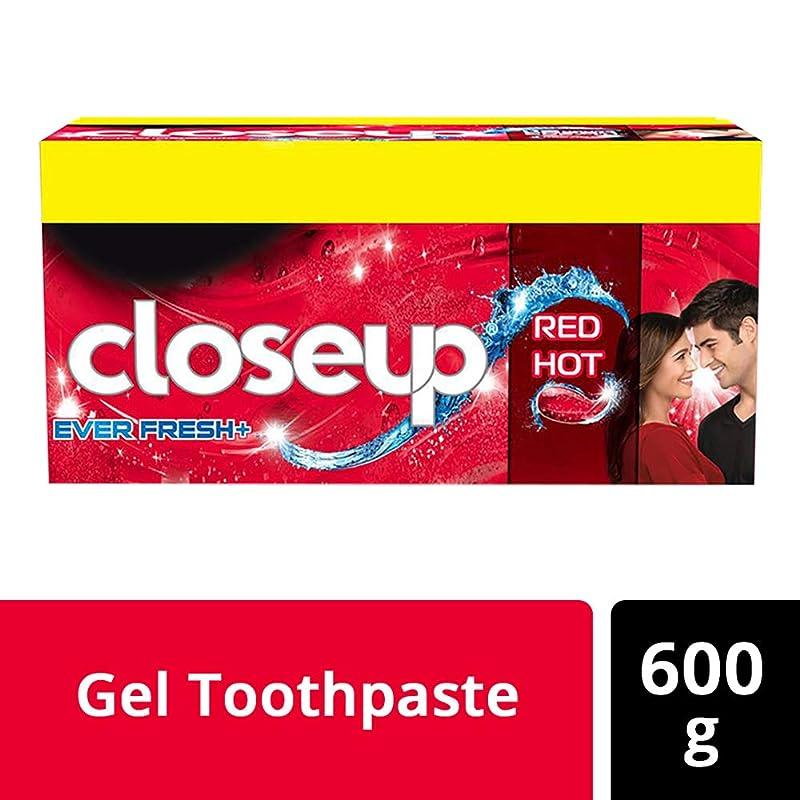 インシュレータどこ反射Closeup Ever Fresh Red Hot Gel Toothpaste - 150 g (Buy 3 get 1)