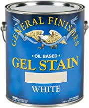 General Finishes Oil Base Gel Stain, 1 Gallon, White