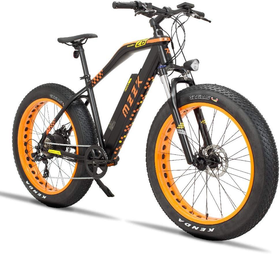 MZZK Electric Bike 7-Speed Powerful Batt Phoenix Mall 48V Lithium Japan Maker New E-Bike with