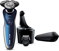 Philips Norelco Shaver 8900 with SmartClean, Rechargeable Wet/Dry Electric Shaver with Beard Trimmer Attachment, S8950/90