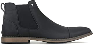 BETTS New Panic Mens Casual Boots Shoes Black 9