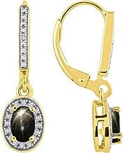 Best black star sapphire earrings Reviews