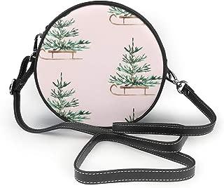 Handbags For Women, Travels Blush PU Leather Shoulder Bags,Tote Satchel Messenger Bags