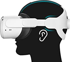 [Upgraded Version] Esimen K6 Adjustable Elite Strap for Oculus Quest 2, Head Strap with Cushion, No Touching Ears, Reducin...