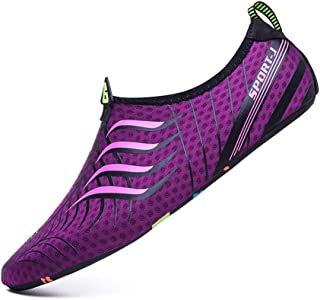 MTSL Water Shoes,Beach Shoes Wading Non-Slip Thin Bottom Snorkeling Swimming Shoes