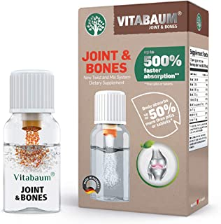 Sponsored Ad - Vitabaum Joint & Bones -Twist n Mix System for 500% Faster and 50% More Absorption Than Pills or Tablets-Fe...
