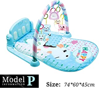 Baby Play Mat, 16 Styles Of Baby Music Play Play Mat Baby, Jigsaw Puzzle Piano Keyboard Baby Fun Activities Play Mat For B...
