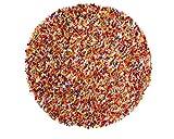 Sukhi Araav: Redonda: 90cm a 200cm alfombras de Lana de Fieltro Multi Online Colores de la India Pinocho Ronda, Venta de separación (160cm / 5' 3'')