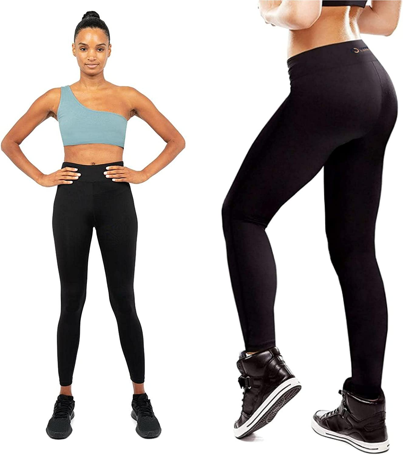 Copper Compression Womens Colorado Springs Mall Leggings - Pan High Tights Yoga Waist Shipping included
