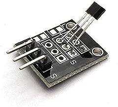 HDHUA 49E Hall Effect Sensor KY-035 Analogue Hall Magnetic Sensor Switch Module Class Bihor for Uno AVR PIC Smart Electronics DIY KY03 Modification Accessories
