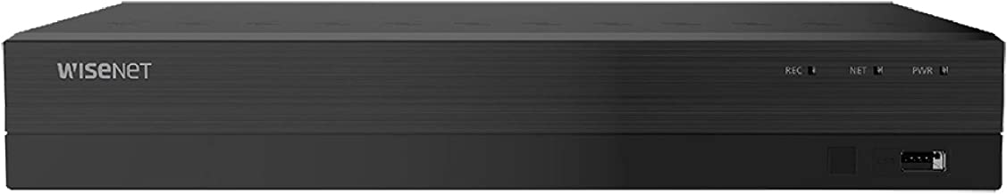 Wisenet SDR-843052T 8 Channel Super HD Video Security DVR with 2TB Hard Drive (Renewed)