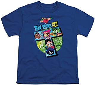 Teen Titans Go! Youth T Shirt & Stickers