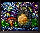 Uhomate My Neighbor Totoro in Rain Hayao Miyazaki