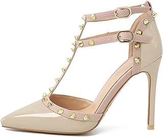 Ankle Strap Heels for Women Stilettos Pumps
