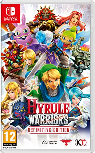 Nintendo Hyrule Warriors: Definitive Edition, Switch Definitive Nintendo Switch vdeo – Juego (Switch,…