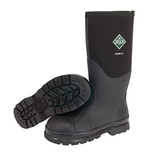 6bd294997c97 Muck Boots Chore Classic Tall Steel Toe Men s Rubber Work Boot