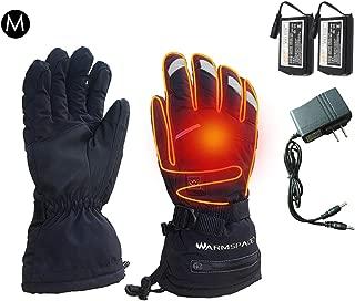 precauti Guanti da Riscaldamento elettrici con batterie Guanti Termici riscaldati per Uomo e Donna Guanti da Sci Invernali per scaldamani
