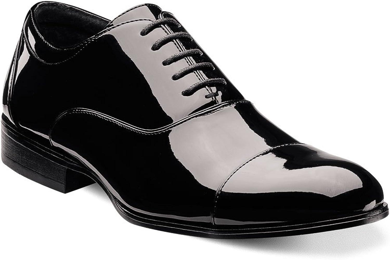 STACY ADAMS Men's Gala Cap Toe Oxford Oxford schwarz Patent 8 EE US  Es gibt mehr Marken von qualitativ hochwertigen Waren