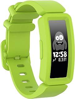TopTen Pasek do zegarka kompatybilny z Fitbit Ace 2 / Fitbit Inspire HR Activity Tracker dla dzieci 6+, silikonowy regulow...