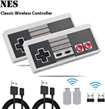 NES Classic Controller 2 pack,NES Rechargeable Wireless Gamepad for Nintendo Mini NES Classic Edition, Wireless Joypad & Gamepads Controller (2 Pack)