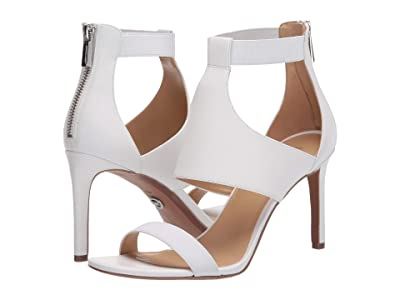 MICHAEL Michael Kors Dominique Sandal (Optic White) Women