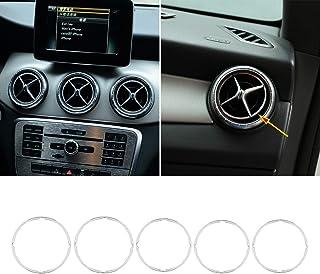 XZANTE Per Mercedes Benz Ab Gla Classe Cla C117 W117 W176 W246 A180 ABS Posteriore Row Aria Condizionata Vent Trim Accessori