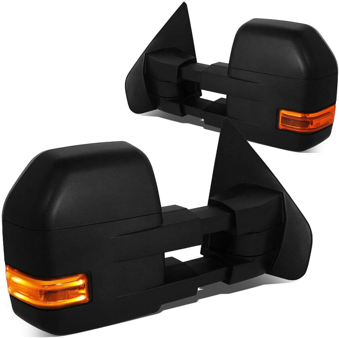 Vooviro Over item handling ☆ Excellent Cheap mail order specialty store 1 Pair Powered+Heated+LED Turn Vie Rear Signal