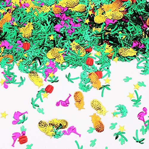 2000 piezas de confeti de mesa hawaiano aloha confeti decoraciones confeti con...